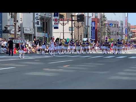 2019釧路港まつり音楽パレード 昭和小学校