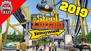 Kennywood Announces STEEL CURTAIN Roller Coaster for 2019! | Kholo.pk