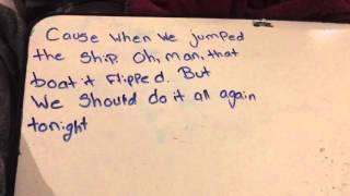 Go big or Go Home lyrics by American Authors
