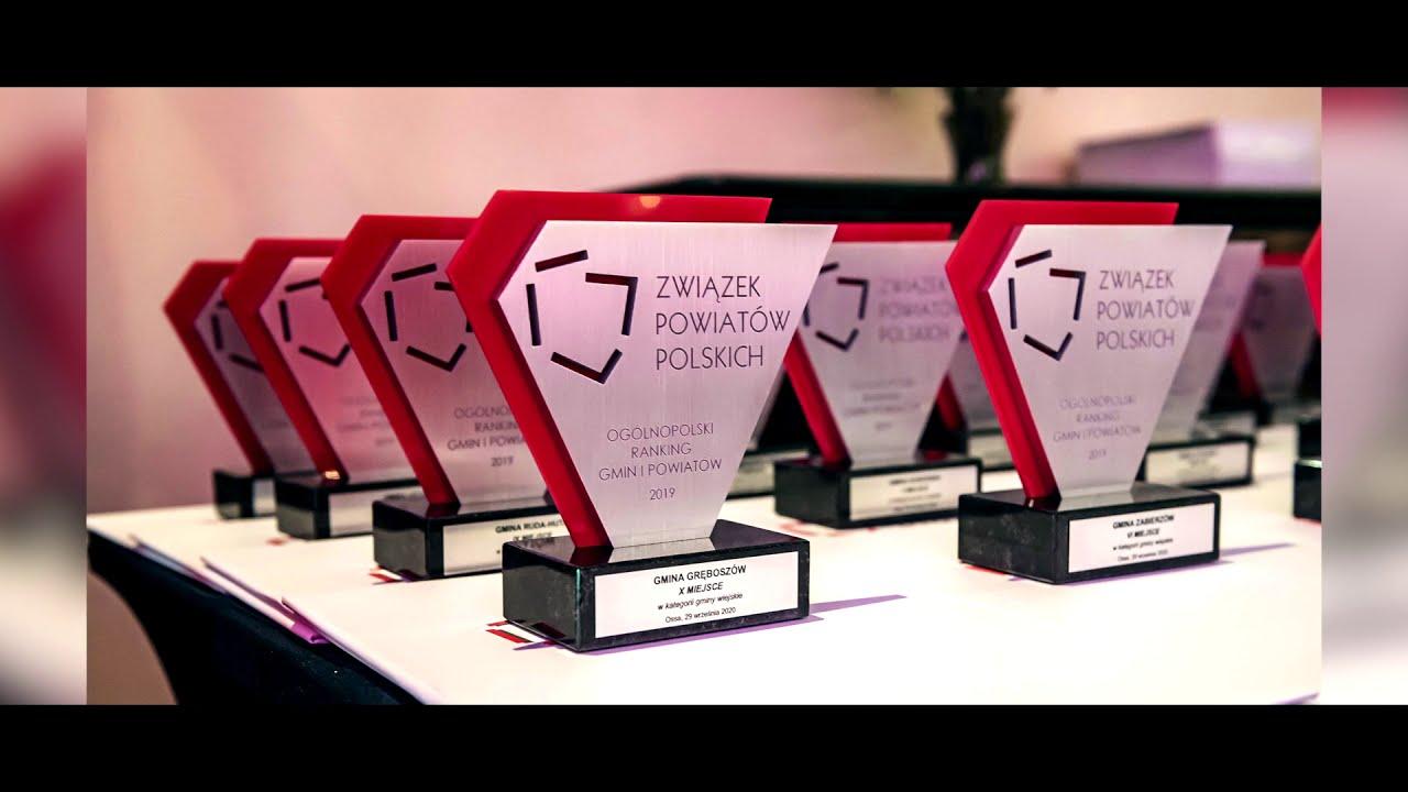 ZO ZPP: film promocyjny z gali rozdania nagród Ogólnopolskiego Rankingu Gmin i Powiatów 2019 w kategorii: gminy wiejskie