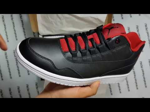 Air Jordan Executive Low Black/Red | Unboxing Sneakerhead Perú