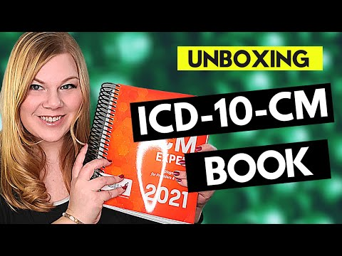 MEDICAL CODING ICD-10-CM CODING BOOK UNBOXING ...