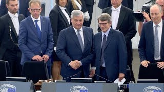 MEPs elect David Sassoli as President of the European Parliament