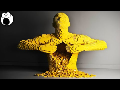 Amazing Lego Sculptures People Have Made