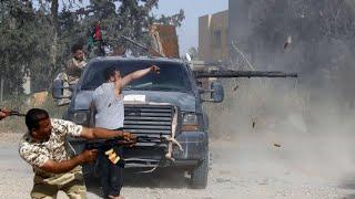 Luftangriffe Auf Tripolis: Gefechte In Libyen Halten An