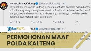 Admin Instagram Humas Polda Kalteng Adu Argumen dengan Netizen Lewat DM, Polda Minta Maaf