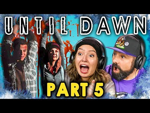NO SHE'S DEAD! | UNTIL DAWN - Part 5 (React: Let's Plays)