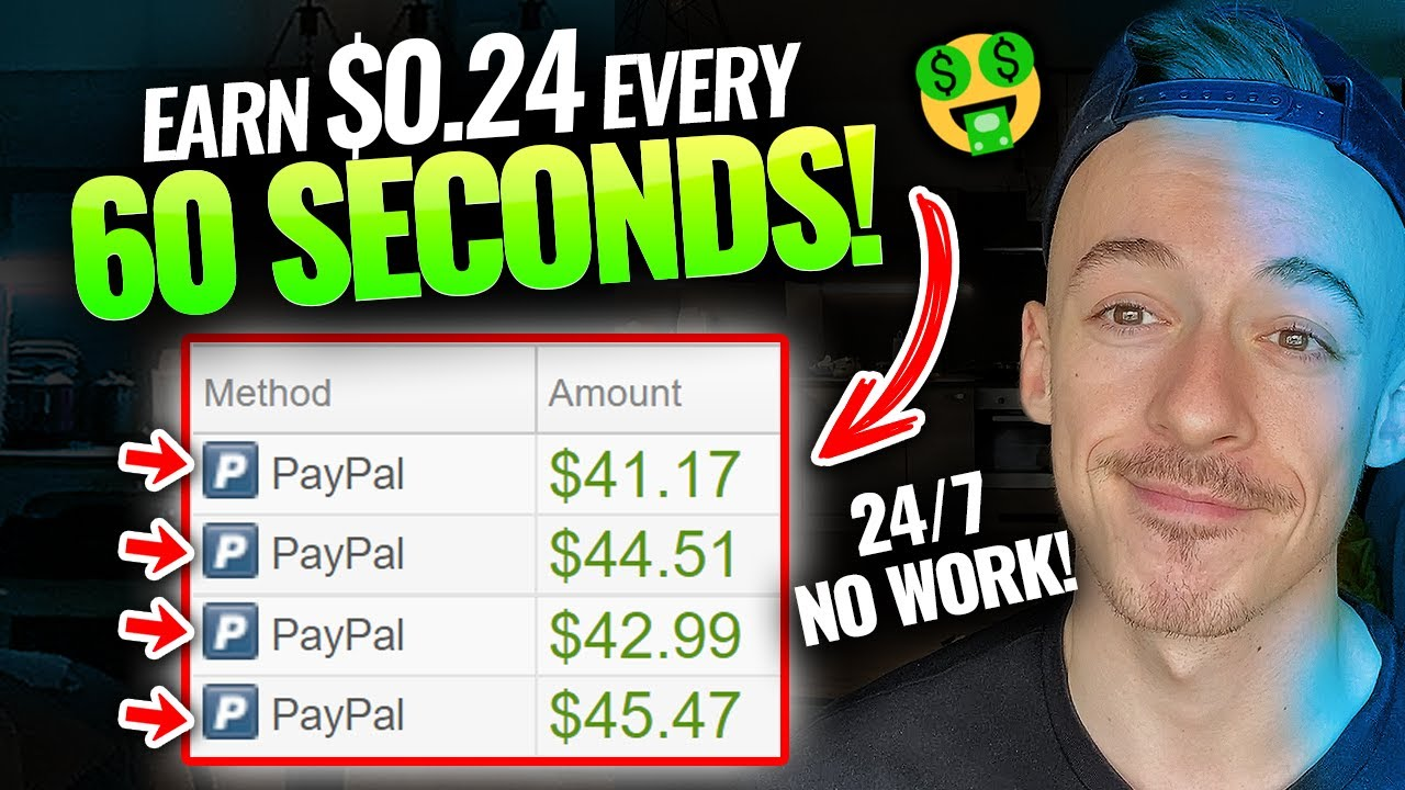 Earn money $0.24 Every one minute (BRAND-NEW TECHNIQUE!)|Generate Income Online For Beginners thumbnail