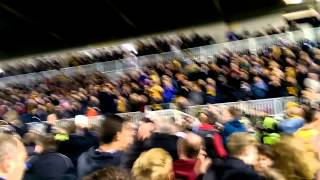 preview picture of video 'Maidstone United v Stevenage FA Cup First Round Replay Pitch Invasion (2014)'