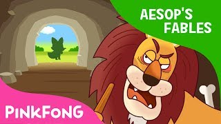 The Old Lion and the Fox | Aesop's Fables | Pinkfong Story Time for Children