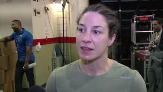 Fight Night Halifax: Sara McMann Backstage Interview