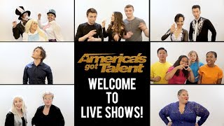 Welcome To The Live Shows! Top 36 Acts Of Season 13 - America