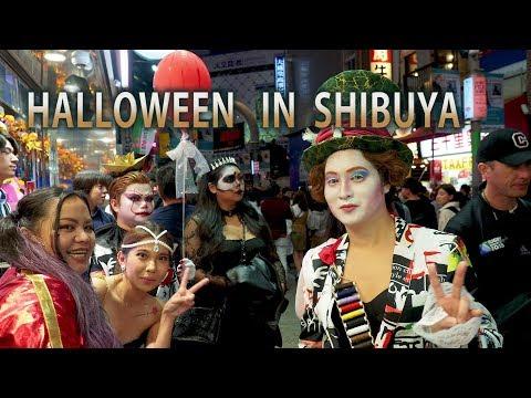 【渋谷ハロウィン痴漢盗撮動画】街撮り盗撮してたカメラに偶然写った痴漢現場…網タイツギャルの尻を触る瞬間を激写ww |