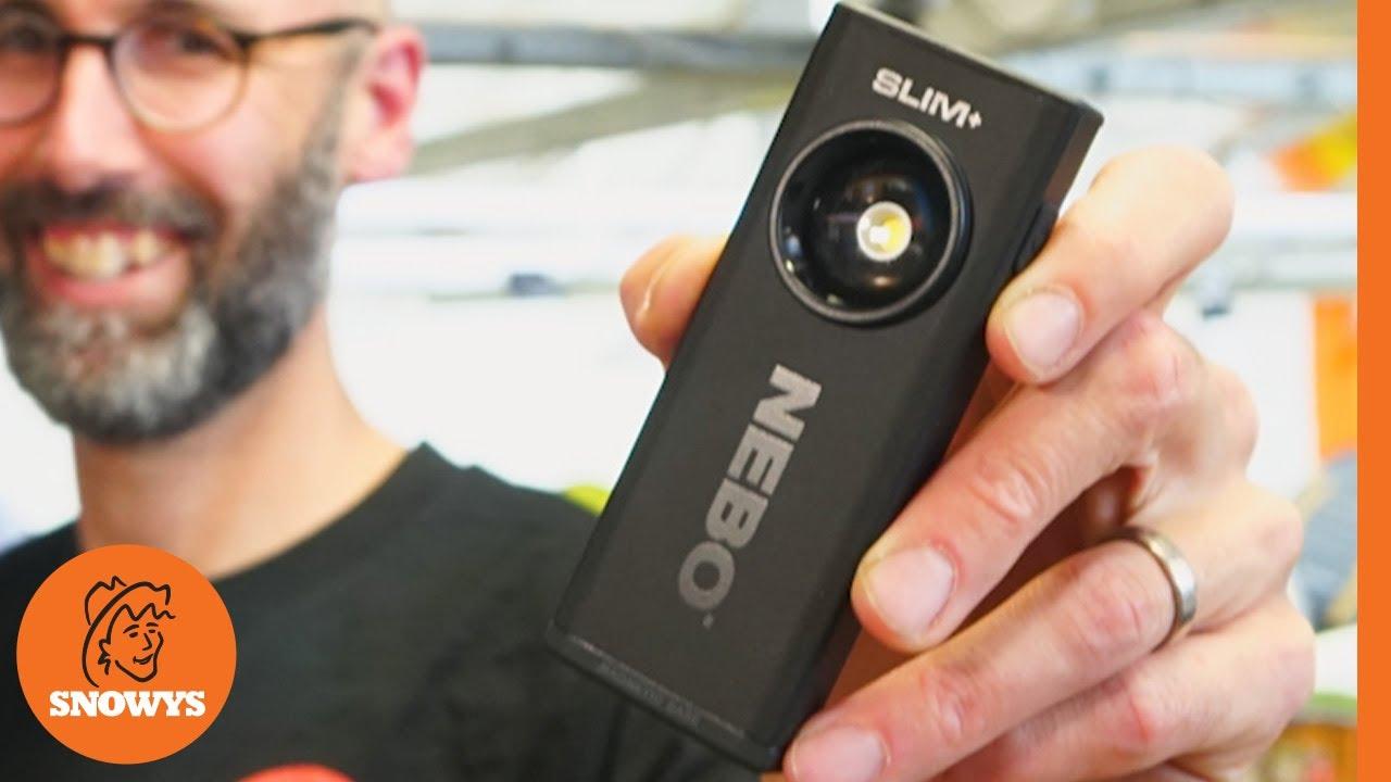 SLIM+ Spotlight, Laser & Power Bank