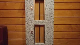 Макет лифта вблизи