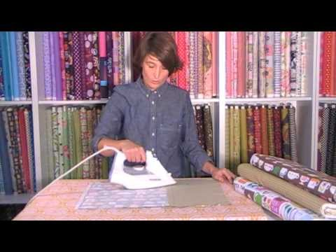 Tutorial para plastificar telas y hacer un mantel individual de Jan et Jul