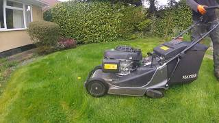 Mowing an Overgrown lawn