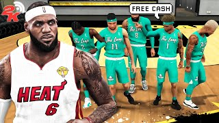 COMP PRO AM TEAM CHALLENGED my LEBRON JAMES BUILD to a $500 WAGER in NBA 2K20