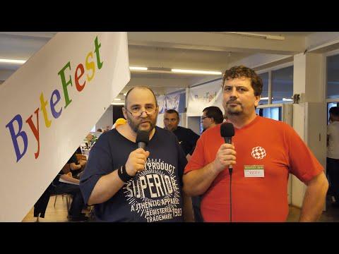 ByteFest 2019 ~ Rozhovor s pořadatelem (František aka Fery) ~ Česky ⁴ᴷ