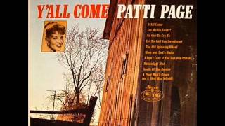 Patti Page - No One To Cry To