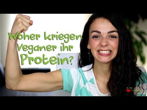 PROTEIN BEI VEGANER ERNÄHRUNG - Wo bekommen Veganer ihr Eiweiß her?