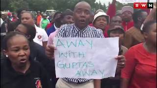 Protest at Gupta owned coal mine