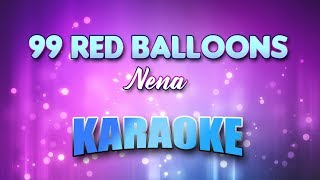 Nena - 99 Red Balloons (Karaoke & Lyrics)