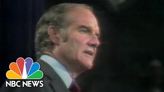 Now And Then: Comparing Sanders' 2020 Run To McGovern's 1972 Campaign   NBC News