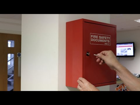 Metal Fire Document Cabinet - Instruction Video