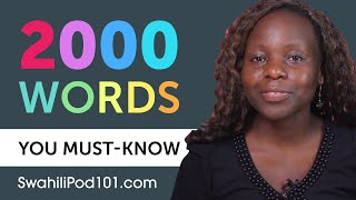 2000 Words Every Swahili Beginner Must Know