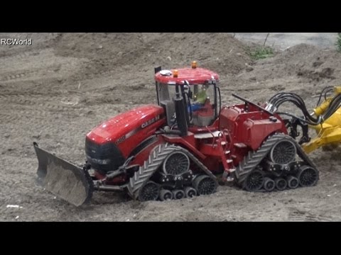 RC Tractors Agriculture Traktoren Modellbaufreunde Ost ♦ Modell Hobby Spiel Leipzig 2015 Modellbau