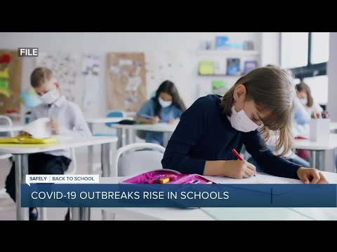 COVID-19 outbreaks rise in schools