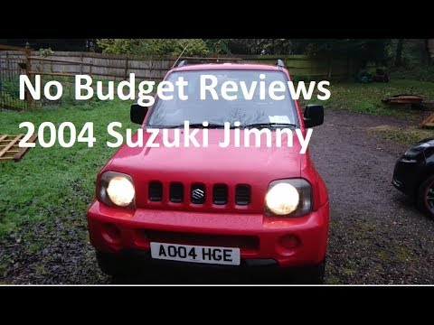 No Budget Reviews: 2004 Suzuki Jimny 1.3 JLX (With Boats and Engines) - Lloyd Vehicle Consulting