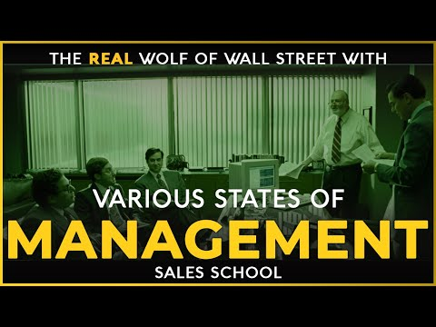 Various States Of Management   Free Sales Training Program   Sales School