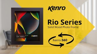Rio Classic Black Frame 360 video