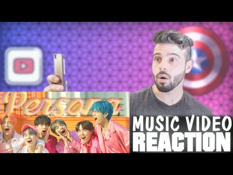 BTS  (Boy With Luv) Feat. Halsey' Official MV Reaction