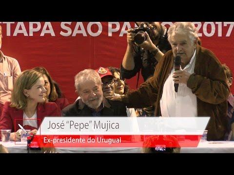 Mujica  VI Congresso Nacional do PT – Abertura da Etapa Paulista