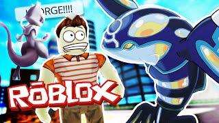Roblox Adventures / Pokemon GO / FINDING KYORGE & MEWTWO!