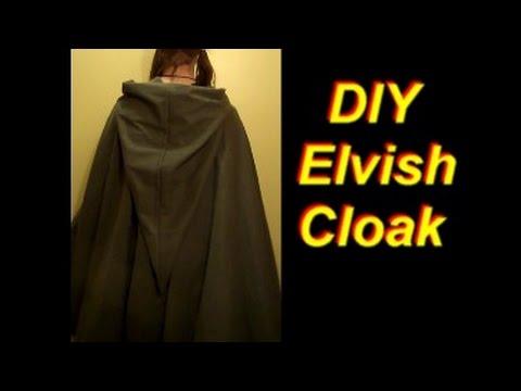 How to Make an Elven Cloak