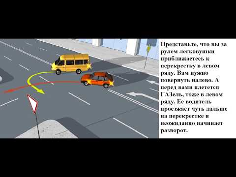 ПДД 2020. Кто из водителей должен уступить дорогу?