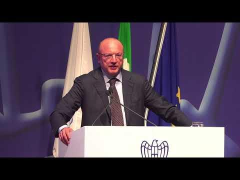 Assemblea 2018 - l'intervento del presidente di Confindustria Vincenzo Boccia