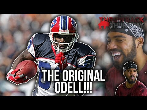 The Greatest Wide Receiver You've NEVER Heard Of!!!- Eric Moulds Highlights [Reaction]