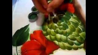 Pintando frutas do Conde