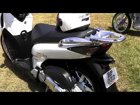 Honda SH125i chrome