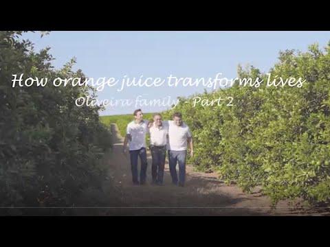 How orange juice transforms lives - Oliveira family part 2