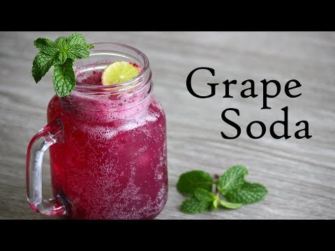 Grape Soda Recipe -Refreshing Summer Drink
