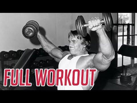 Arnold Shoulders Gain Workout (For big full shoulders