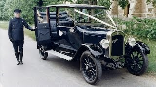 preview picture of video 'A ride in a 1924 Austin 20/4 Marlborough Landaulet'