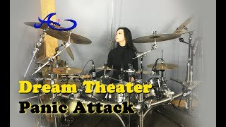 Dream Theater - Panic Attack drum cover by Ami Kim (33rd)