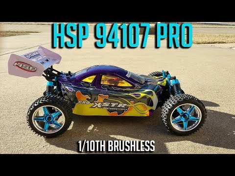 HSP 94107 Pro 1/10th Brushless RTR Buggy Review
